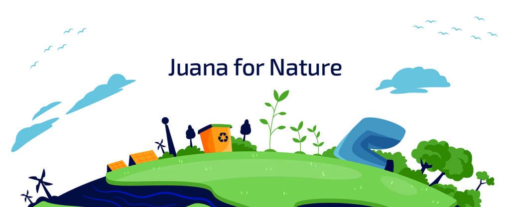 Juana for nature - e-waste management